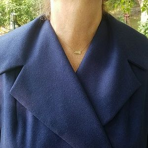 Custom Made Jackets & Coats - 1950's Vintage Custom Made Wool Swing Coat
